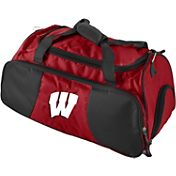 Wisconsin Badgers Embroidered Gym Bag