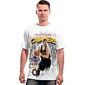 Levelwear Men's Cleveland Cavaliers Kevin Love Center Court White T-Shirt