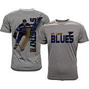 Levelwear Men's St. Louis Blues Paul Statsny #26 Grey Spectrum T-Shirt