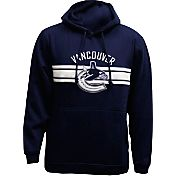 Levelwear Men's Vancouver Canucks Bar Stripe Navy Hoodie