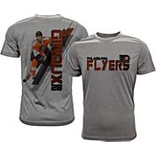 Levelwear Men's Philadelphia Flyers Claude Giroux #28 Grey Spectrum T-Shirt