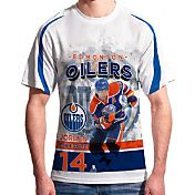 Levelwear Men's Edmonton Oilers Jordan Eberle #14 Center Ice White T-Shirt