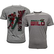 Levelwear Men's Minnesota Wild Ryan Suter #20 Grey Spectrum T-Shirt