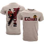 Levelwear Youth Chicago Blackhawks Duncan Keith #2 Charcoal Spectrum T-Shirt