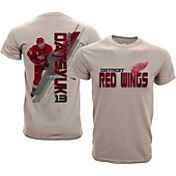 Levelwear Youth Detroit Red Wings Pavel Datsyuk #13 Charcoal Spectrum T-Shirt
