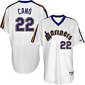 Majestic Men's Seattle Mariners Robinson Cano #22 White Turn Back The Clock Authentic Flex Base Jersey