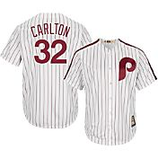 Majestic Men's Replica Philadelphia Phillies Steve Carlton Cool Base White Cooperstown Jersey