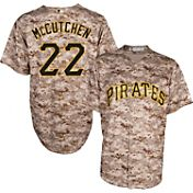 Majestic Men's Replica Pittsburgh Pirates Andrew McCutchen #22 Cool Base Alternate USMC Camo Jersey