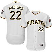 Majestic Men's Authentic Pittsburgh Pirates Andrew McCutchen #22 Home White Flex Base On-Field Jersey