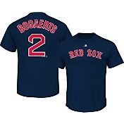Majestic Men's Boston Red Sox Xander Bogaerts #2 Navy T-Shirt
