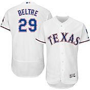 Majestic Men's Authentic Texas Rangers Adrian Beltre #29 Home White Flex Base On-Field Jersey