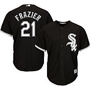 Majestic Men's Replica Chicago White Sox Todd Frazier #21 Cool Base Alternate Black Jersey