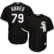 Majestic Men's Replica Chicago White Sox Jose Abreu #79 Cool Base Alternate Black Jersey