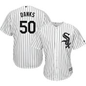 Majestic Men's Replica Chicago White Sox John Danks #50 Cool Base Home White Jersey