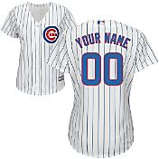 Majestic Women's Custom Cool Base Replica Chicago Cubs Home White Jersey
