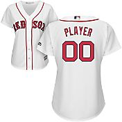 Majestic Women's Full Roster Cool Base Replica Boston Red Sox Home White Jersey