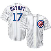 Majestic Youth Replica Chicago Cubs Kris Bryant #17 Cool Base Home White Jersey