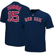 Majestic Youth Boston Red Sox Dustin Pedroia #15 Navy T-Shirt