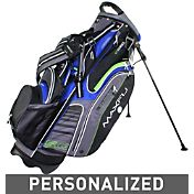 Maxfli U/Series 5.0 Personalized Stand Bag - Black/Blue