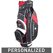 Maxfli U/Series 4.0 Personalized Cart Bag - Black/Charcoal/Red