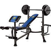 Marcy Standard Bench with 80 lb. Weight Set