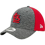 New Era Men's St. Louis Cardinals 39Thirty Shadow Blocker Grey/Red Flex Hat