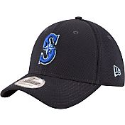 New Era Men's Seattle Mariners 39Thirty Tone Tech Navy Flex Hat