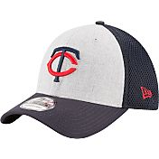 New Era Men's Minnesota Twins 39Thirty Heather Grey Neo Flex Hat