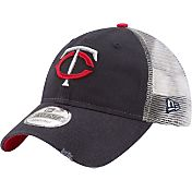 New Era Men's Minnesota Twins 9Twenty Rustic Navy Adjustable Hat