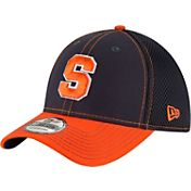 New Era Men's Syracuse Orange Blue/Orange Team Front Neo 39Thirty Hat