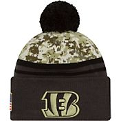 New Era Men's Cincinnati Bengals Salute to Service 2016 Camo Cuff Knit