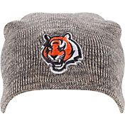 New Era Men's Cincinnati Bengals Slouch-It Grey Long Knit Beanie