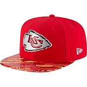 New Era Men's Kansas City Chiefs Color Rush 2016 On-Field 9Fifty Adjustable Hat