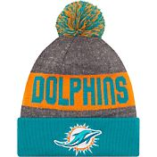 New Era Men's Miami Dolphins Sideline 2016 Sport Knit Hat