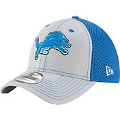 New Era Men's Detroit Lions Team Front Neo 39Thirty Flex Hat