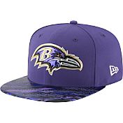 New Era Men's Baltimore Ravens Color Rush 2016 On-Field 9Fifty Adjustable Hat