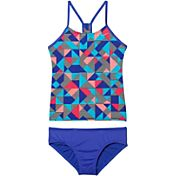 Nike Girls' Optic Pop Racerback Tankini Set