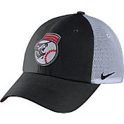 Nike Men's Cincinnati Reds Dri-FIT Black/White Heritage 86 Adjustable Hat