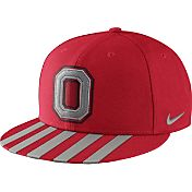 Nike Men's Ohio State Buckeyes Scarlet Throwback True Snapback Football Hat