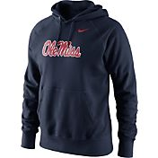 Nike Men's Ole Miss Rebels Blue Classic Logo Hoodie