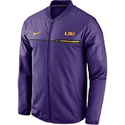 Nike Men's LSU Tigers Purple Elite Hybrid Jacket