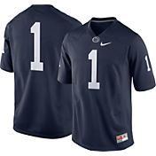 Nike Men's Penn State Nittany Lions #1 Blue Game Football Jersey