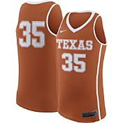 Nike Men's Texas Longhorns #35 Burnt Orange Replica ELITE Basketball Jersey