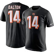 Nike Men's Cincinnati Bengals Andy Dalton #14 Pride Black T-Shirt