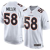 Nike Men's Away Game Jersey Denver Broncos Von Miller #58