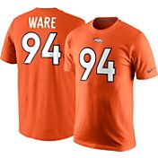 Nike Men's Denver Broncos DeMarcus Ware #94 Pride Orange T-Shirt