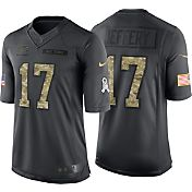 Nike Men's Home Limited Jersey Chicago Bears Alshon Jeffery #17 Salute to Service 2016