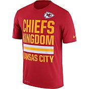 Nike Men's Kansas City Chiefs 'Chiefs Kingdom' Performance Red T-Shirt