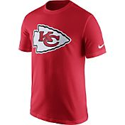 Nike Men's Kansas City Chiefs Essential Logo Red T-Shirt