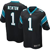 Nike Men's Home Game Jersey Carolina Panthers Cam Newton #1
